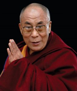 Dalai Lama Hompeage